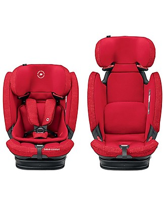 Bébé Confort Seggiolino Auto Titan Pro Isofix Gruppo 1/2/3, Nomad Red - Da 9 mesi a 12 anni Seggiolini Auto Bimbi Piccoli