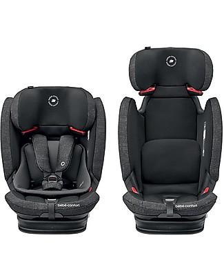 Bébé Confort Seggiolino Auto Titan Pro, Nomad Black - Da 9 mesi a 12 anni, Multi-gruppo Seggiolini Auto