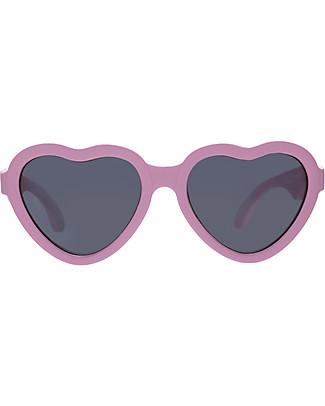 Babiators Occhiali da Sole Hearts I Love You, Rosa - 100% Protezione UV - GARANZIA 1 ANNO Lost&Found Occhiali