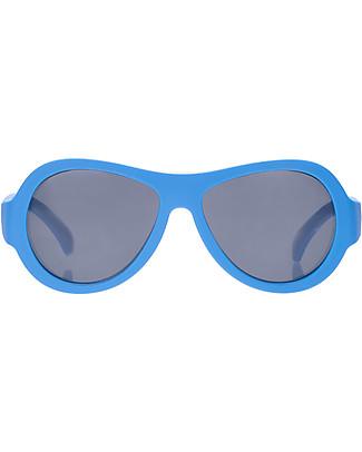 Babiators Occhiali da Sole Original Aviators, Azzurro - 100% Protezione UV - GARANZIA 1 ANNO Lost&Found Occhiali