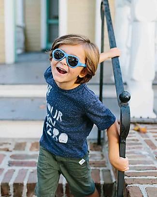 Babiators Occhiali da Sole Original Aviators, Azzurro - 100% Protezione UV Occhiali
