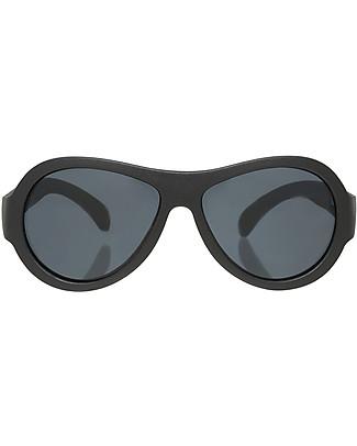 Babiators Occhiali da Sole Original Aviators, Nero - 100% Protezione UV Occhiali