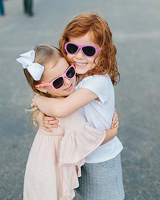 Babiators Occhiali da Sole Original Aviators, Rosa Popstar - 100% Protezione UV Occhiali