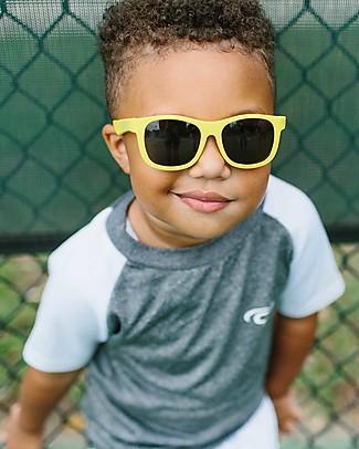 Babiators Occhiali da Sole Original Navigators, Giallo Hello Yellow - 100% Protezione UV Occhiali