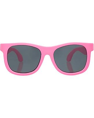 Babiators Occhiali da Sole Original Navigators, Rosa - 100% Protezione UV Occhiali