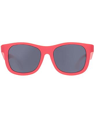 Babiators Occhiali da Sole Original Navigators, Rosso - 100% Protezione UV Occhiali