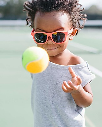 Babiators Occhiali da Sole Original Navigators, Rosso Rockin' Red - 100% Protezione UV Occhiali