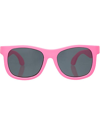 Babiators Sunglasses Original Navigartors, Think Pink - 100% UV Protection Sunglasses