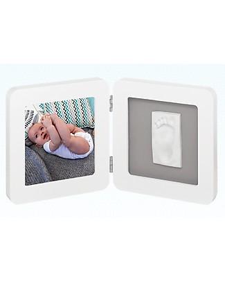 Baby Art Baby Art Cornice Impronta Singola - Bianco e Grigio Decorazioni