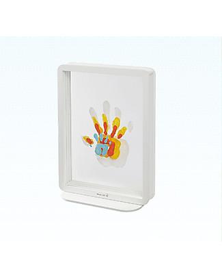 Baby Art Baby Art Family Touch, Kit Impronte per la Famiglia - Bianco Album Dei Ricordi