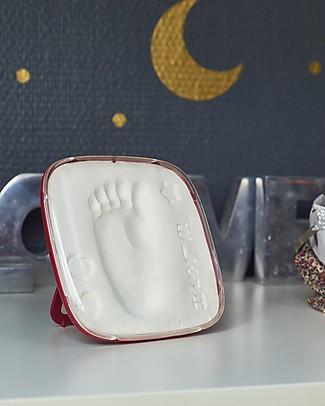 Baby Art Baby Art Hello Baby Burgundy, Cornice Impronta Singola - Bordeaux Album Dei Ricordi