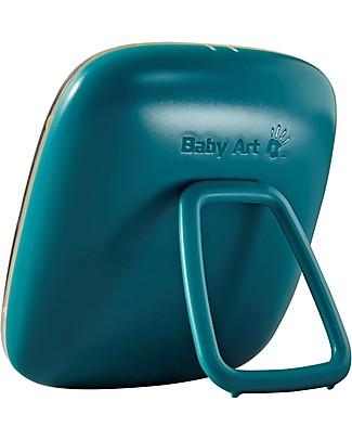 Baby Art Baby Art Hello Baby Galactic Green, Cornice Impronta Singola - Verde Album Dei Ricordi