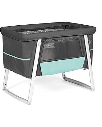 Baby Home Culla Air  Grafite – Leggerissima, trasportabile e anche dondolo e ruote Culle e Ceste