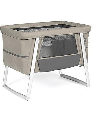 Baby Home Culla Air Sabbia – Leggerissima, trasportabile e anche dondolo e ruote Culle e Ceste