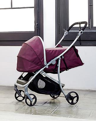 Baby Home Kit Carrozzina per Passeggino Baby Home Vida, Viola – Per usare il passeggino fin dalla nascita! Carrozzine e Navicelle