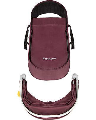 Baby Home Kit Carrozzina per Passeggino Baby Home Vida, Viola - Per usare il passeggino fin dalla nascita! Carrozzine e Navicelle