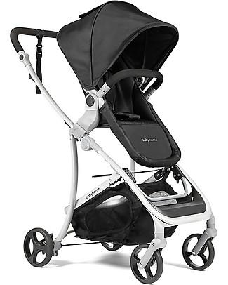 Baby Home Passeggino con Carrozzina Vida Plus, Black - Dalla nascita a 15 kg! Carrozzine e Navicelle
