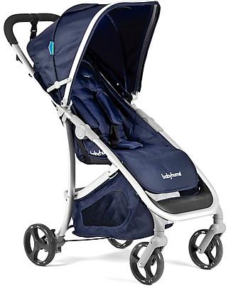 Baby Home Passeggino Emotion Blu - Maneggevole, leggero e compatto! Passeggini