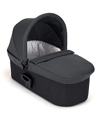 """Baby Jogger Navicella Carrozzina """"Deluxe"""" - Antracite - per Mini City 3, Mini GT, City Elite, City Select e Summit X3! Sistemi Combinabili"""