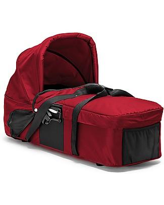 Baby Jogger Navicella Carrozzina Compact per passeggino City Mini 3/GT - Rosso Carrozzine e Navicelle