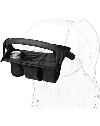Baby Jogger Parent Console Universale per Passeggini - Chiusura in velcro, adattabile a qualunque passeggino! Accessori