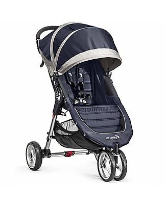 Baby Jogger Passeggino City Mini™ 3 - Blu Navy/Grigio - Leggero e compatto - Si chiude con una mano! Passeggini Leggeri