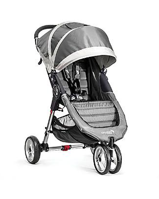 Baby Jogger Passeggino City Mini™ 3 - Sabbia/Grigio Acciaio - Leggero e compatto - Si chiude con una mano! Passeggini Leggeri