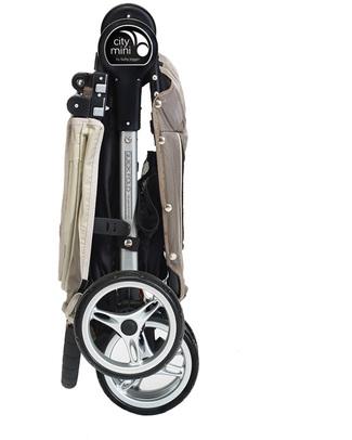 Baby Jogger Passeggino City Mini™ 3 - Sabbia/Grigio - Leggero e compatto - Si chiude con una mano! Passeggini Leggeri