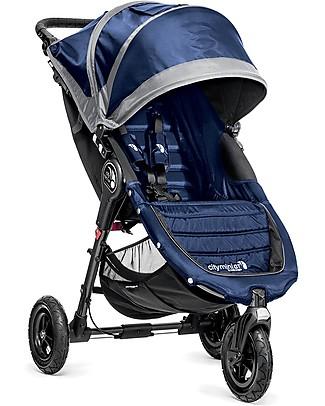 Baby Jogger Passeggino City Mini™ GT - Cobalto - Per tutti i terreni, maneggevole - Si chiude con una mano! Passeggini