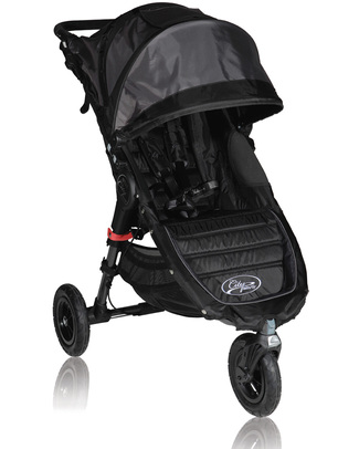 Baby Jogger Passeggino City Mini™ GT - Nero - Per tutti i terreni, maneggevole - Si chiude con una mano! Passeggini Leggeri
