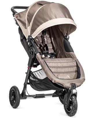 Baby Jogger Passeggino City Mini™ GT - Sabbia/Grigio - Per tutti i terreni, maneggevole - Si chiude con una mano! Passeggini Leggeri