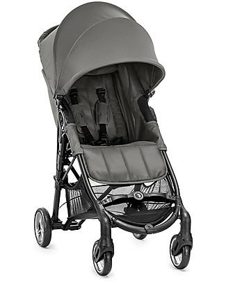 Baby Jogger Passeggino City Mini™ Zip - Grigio Acciaio - Compatto, leggero, si chiude con una mano! Passeggini Leggeri