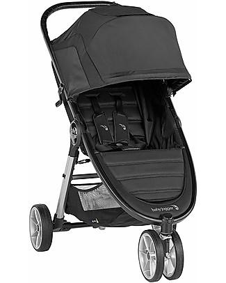 Baby Jogger Passeggino City Mini 2, Jet - 3 ruote, ideale per la Città! Passeggini Leggeri