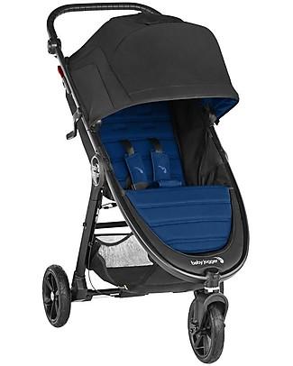 Baby Jogger Passeggino City Mini GT2, Windsor - 3 Ruote, Maneggevole in Ogni Terreno! Sistemi Combinabili per Trio