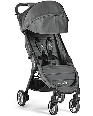 Baby Jogger Passeggino City Tour, Antracite – Leggero e compatto. Va in aereo come bagaglio a mano! Passeggini Leggeri