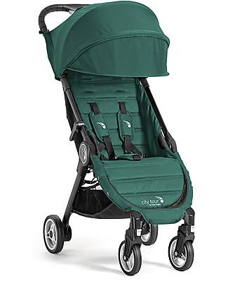 Baby Jogger Passeggino City Tour, Ginepro – Leggero e compatto. Va in aereo come bagaglio a mano! null