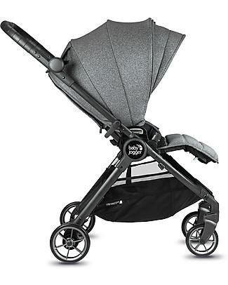 Baby Jogger Passeggino City Tour Lux, Cenere – Ultra-Compatto, Reversibile e Leggero! Passeggini