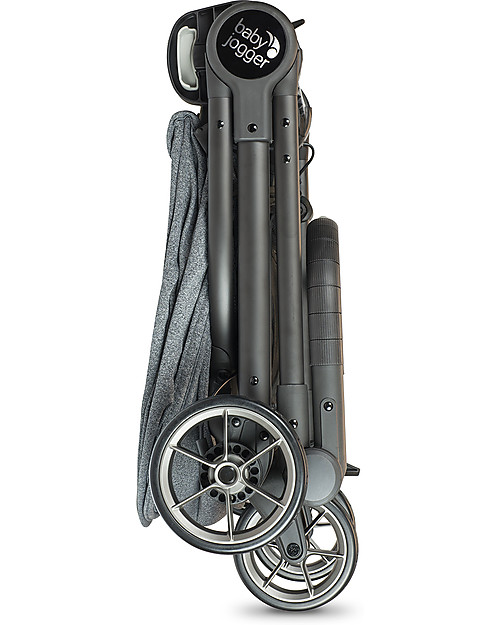 Baby Jogger Passeggino City Tour Lux, Cenere - Ultra-Compatto, Reversibile e Leggero! Passeggini Leggeri