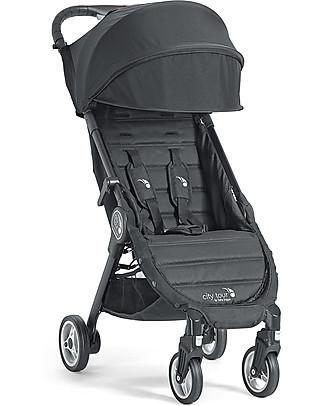 Baby Jogger Passeggino City Tour, Onyx – Leggero e compatto. Va in aereo come bagaglio a mano! Passeggini