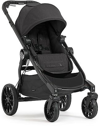 Baby Jogger Passeggino Convertibile Mono/Duo/Triplo City Select Lux - Granito Passeggini Doppi