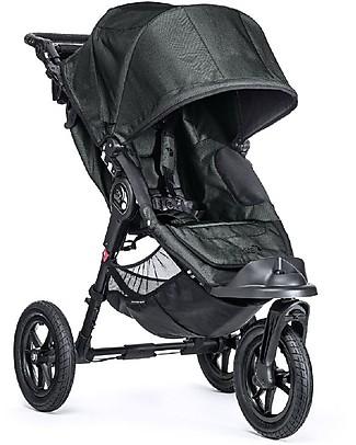 Baby Jogger Passeggino Elite - Titanio - Per tutti i terreni. Si chiude con una mano Passeggini