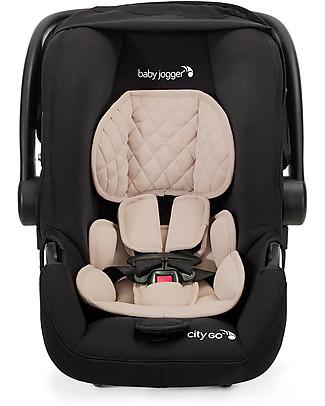 Baby Jogger Seggiolino Auto City Go, Cipria – Solo 3,6 Kg! Leggero e maneggevole! Seggiolini Auto