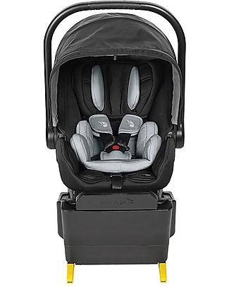 Baby Jogger Seggiolino Auto City Go I-Size, Nero – Ultra-Sicuro! (dalla nascita ai 18 mesi) Seggiolini Auto