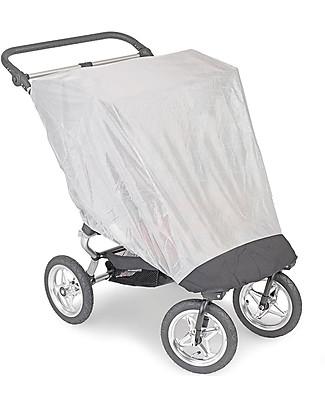 Baby Jogger Zanzariera-Schermo anti UV per Passeggino Gemellare – Per passeggini City Mini Double e GT Double Accessori