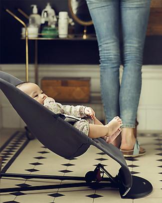 BabyBjörn Sdraietta Balance Soft, Grigio Chiaro e Scuro - Jersey di cotone, fino a 2 anni! Sdraiette