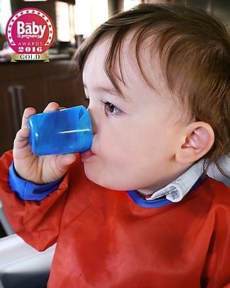 Babycup Prima Tazza Bimbi 0-36 mesi – Set 4 Pezzi Blu - Premiato da Ostetriche e Dentisti Tazze e Bicchieri