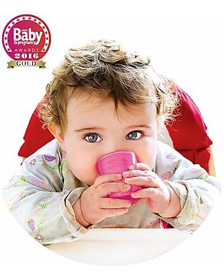 Babycup Prima Tazza Bimbi 0-36 mesi – Set 4 Pezzi Rosa - Premiato da Ostetriche e Dentisti Tazze e Bicchieri