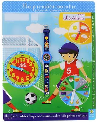 BabyWatch Il Mio Primo Orologio Pedagogico - Calcio (Perfetto già dai 3 anni!) Orologi Pedagogici