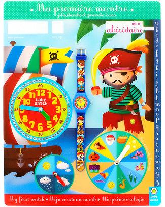 BabyWatch Il Mio Primo Orologio Pedagogico - Pirati (Perfetto già dai 3 anni!) Orologi Pedagogici
