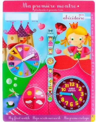 BabyWatch Il Mio Primo Orologio Pedagogico - Principesse (perfetto già dai 3 anni!)  Orologi Pedagogici